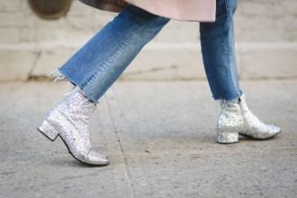 glitter boots