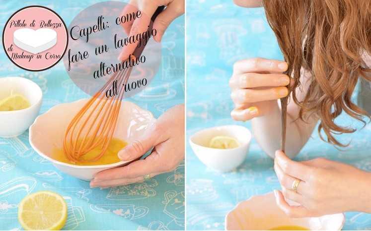 Capelli: come fare un lavaggio alternativo all'uovo