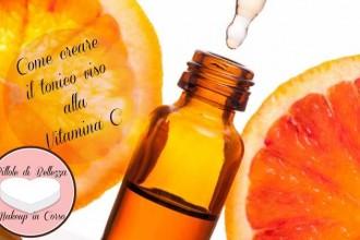 Come creare il tonico viso alla Vitamina C