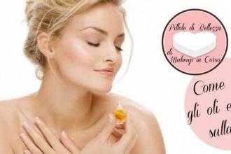 Come usare gli oli essenziali sulla pelle